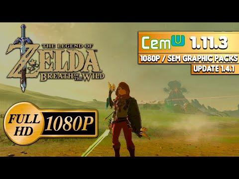 descargar zelda breath of the wild para cemu 1.11.3