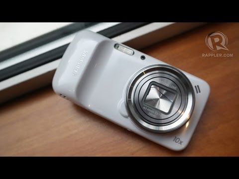 Samsung Galaxy S4 Zoom hands-on review