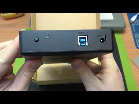 С ALIEXPRESS ЗА 6 ДНЕЙ! ORICO HDD BOX USB 3.0 - УДОБНЫЙ ВНЕШНИЙ HDD БОКС