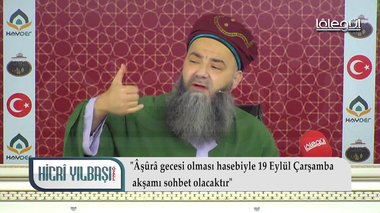 10 Eylül 2018 Tarihli Hicri Sene Sonu Duâsı - Cübbeli Ahmet Hocaefendi Lâlegül TV