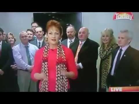 Pauline Hanson won't eat her Halal