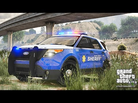 GTA 5 MODS LSPDFR 820 - SHERIFF PATROL!!! (GTA 5 REAL LIFE PC MOD)