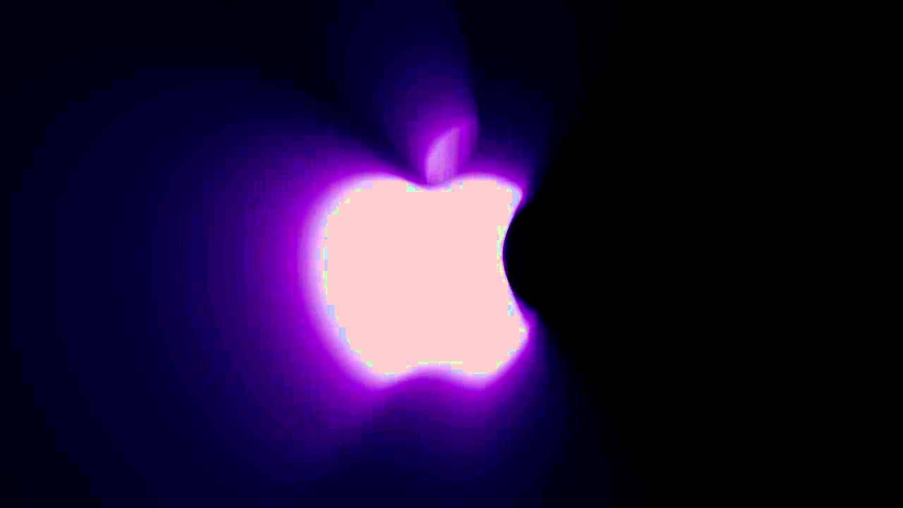 2fe1f813ec1b Apple Logo Mystic Back Glow - YouTube