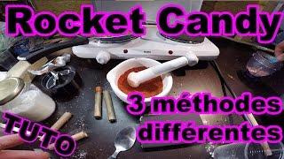 Carburant pour fusée avec du sucre: 3 façons de faire des rocket candy [TUTO]