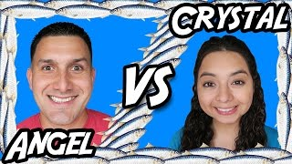 Angel VS Crystal - Fishy Fishy Arcade Challenge