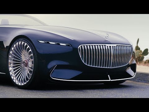 Vision Mercedes Maybach Six Cabriolet - Trailer