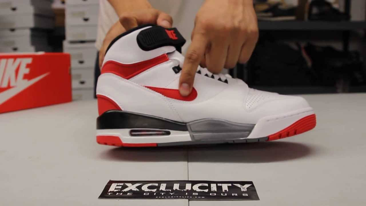 Nike Air Revolution White - Black - Varsity Red Unboxing Video at Exclucity  - YouTube 1f51a5c4f