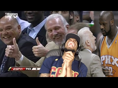 LMAOO HE'S ROASTING EVERYBODY! GREGG POPOVICH FUNNIEST MOMENTS REACTION!