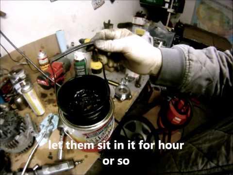 Vw tdi turbocharger vnt cleaning