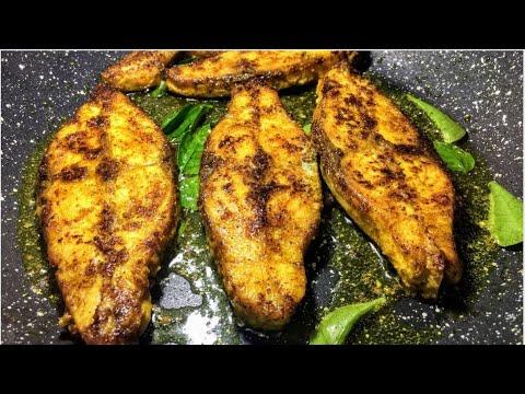 Fish Pepper Fry | Pepper Fish Fry Indian Recipes |  Black Pomfret Fish Fry