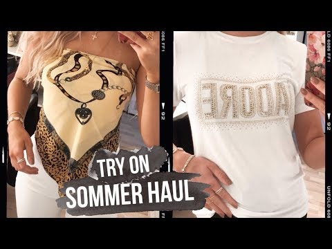 TRY ON SOMMER HAUL