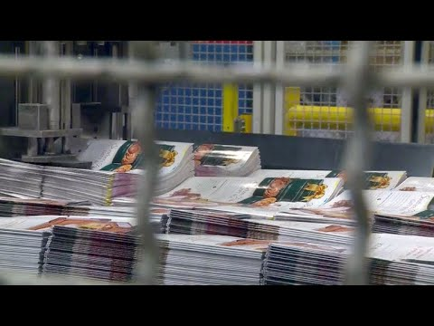 Printing catalogs is a booming business in this state