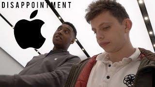 Took my broken macbook to apple