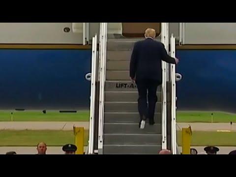 buy popular 7eec3 16eac Was hat Trump da am Schuh?