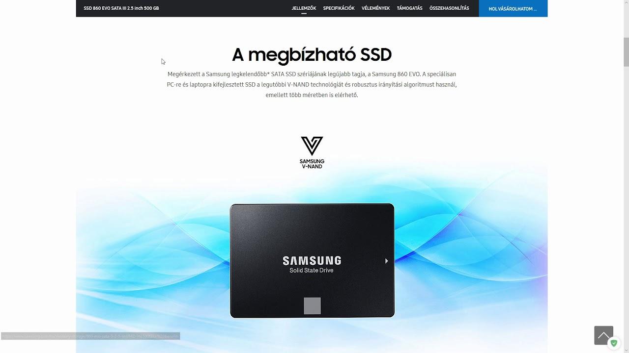 Прошивка SSD 860 EVO - SSD Samsung EVO 1TB