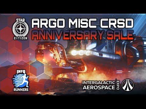Star Citizen | ARGO MISC CRSD Anniversary Sale 2949