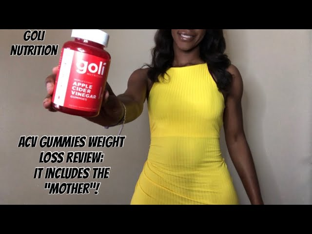 Apple Cider Vinegar Gummies For Weight Loss Goli Nutrition Gummies Review Is It Worth Buying Youtube