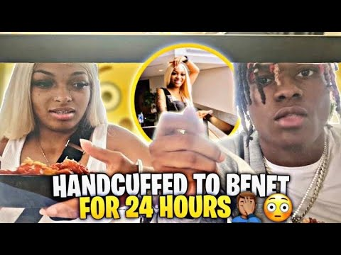 Download HANDCUFFED TO @Benet Nicole FOR 24 HOURS😱   I HAD TO GO PEE😂  