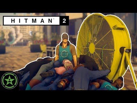 FAN MEETS PEOPLE PILE - Things to do in Hitman 2 - Fan Fling