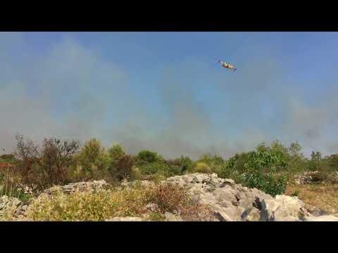 Kanader: Požar Zaton I Vodice