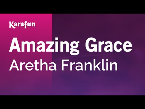 Karaoke Amazing Grace - Aretha Franklin *