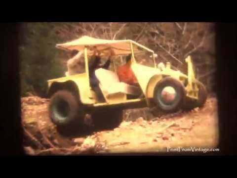 1960s Home Video -Off Road - Small Vehicle - Northern California 1