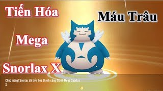 Tiến Hóa Pokemon Snorlax Mega X | Trâu Bò Nhiều Máu - Liên Quân Poke