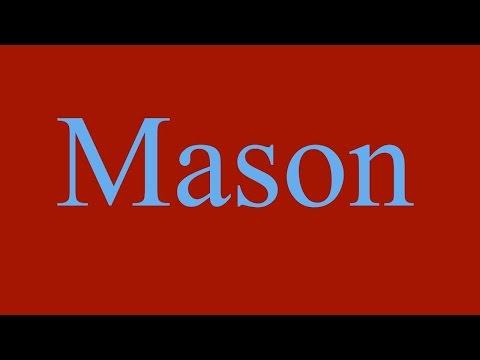 Mason's Alphabet Song