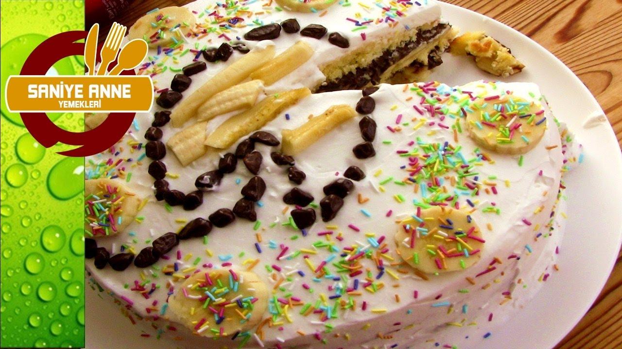 Annem için doğum günü pastası nasıl pişirilir ve yapılır