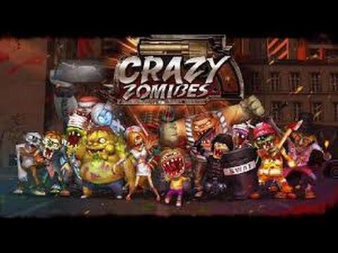 Сумасшедшие зомби #1 Игры на двоих!
