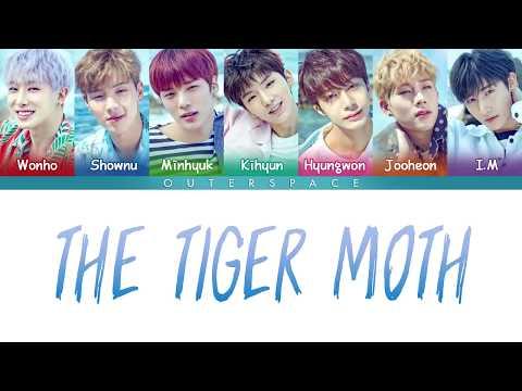 [Han/Rom/Vietsub] The Tiger Moth - Monsta X (Color Coded Lyrics)
