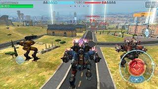 War Robots Test Server 4.3.0 (506) Android Gameplay #1