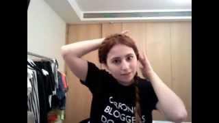 Crown braid tutorial - easy! Thumbnail