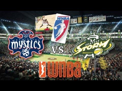 Wnba Stream Seattle Storm Vs Washington Mystics Live Play By Play Reactions Rumboyz Fantasy Network