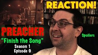 "REACTION! Preacher ""Finish the Song"" Season 1, Episode 9"