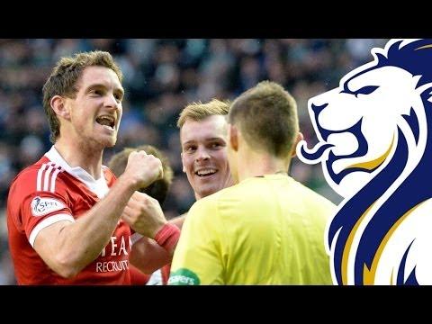 Dons beat Hibs to keep title challenge on track | Hibernian 0-2 Aberdeen, 26/10/2013