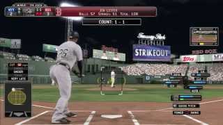 MLB 14 The Show (PS3) Gameplay - Yankees vs Red Sox