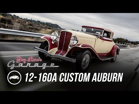 1932 12-160A Custom Auburn – Jay Leno's Garage