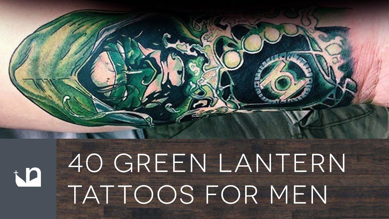 Green lantern tattoo - photo#44
