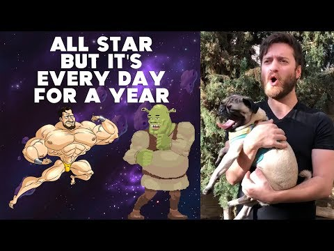 All Star But It's Every Day For A Year
