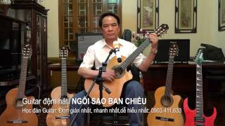 Guitar dem hat NGOI SAO BAN CHIEU  Bác Nhâm
