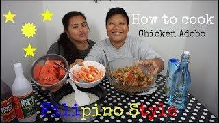 Video How to cook Chicken Adobo Filipino Style - CookBang / Mukbang download MP3, 3GP, MP4, WEBM, AVI, FLV Agustus 2018