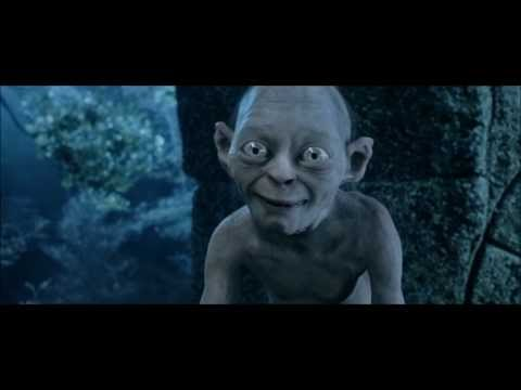 LOTR The Two Towers - Gollum and Sméagol