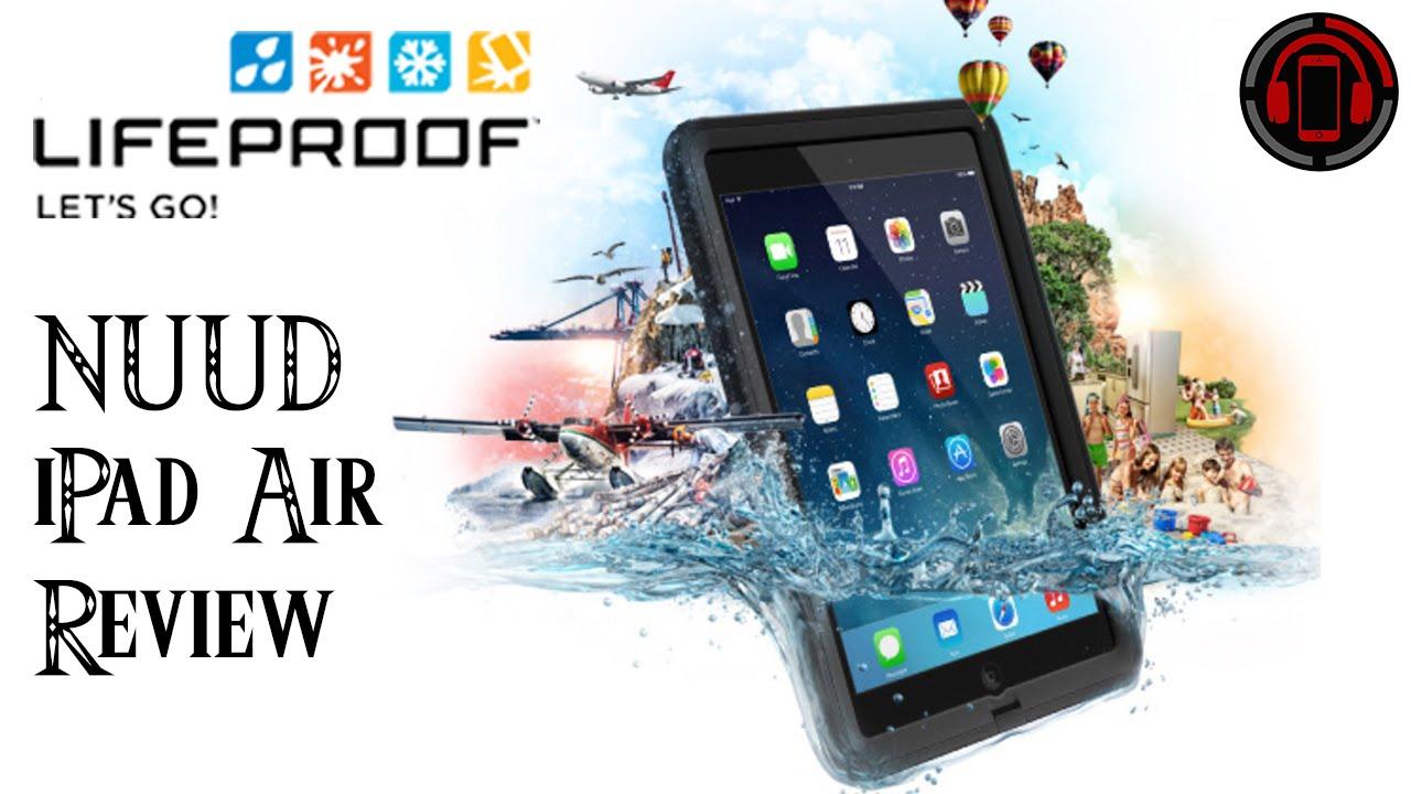 buy popular cd8d3 30d31 Lifeproof Nüüd iPad Air case + Cover & Stand Unboxing [Deutsch/German]