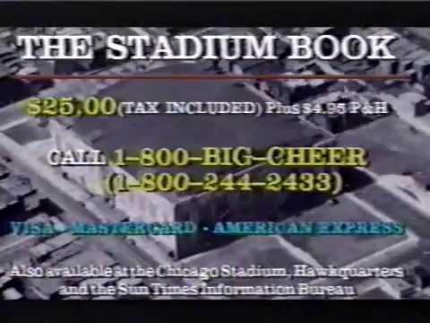Chicago Stadium Book Partial Commercial (1994)
