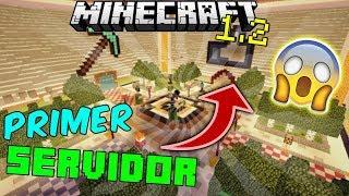 El Primer Servidor para Minecraft 1.2!!! | Increíble server (SIN LAG) | server PVP juegos del hambre