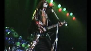 "Kiss - Burning up with Fever  ""Video"""