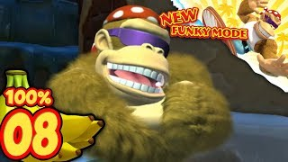 Donkey Kong Country Tropical Freeze Nintendo Switch   World 5: 100% NO DEATHS [Part 1]