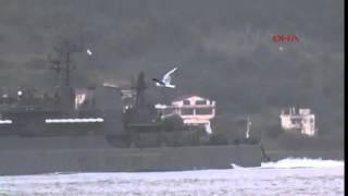 Rus gemileri Akdeniz'e ABD'liler de Karadeniz'e açıldı