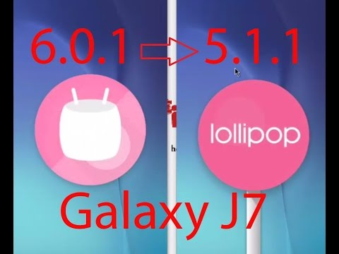 Exculsive: How to Downgrade Samsung Galaxy J7 Marshmallow to